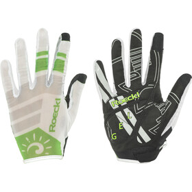 Roeckl Mayo Cykelhandsker, white/green